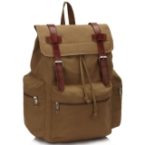 "Khaki vintage ruksak ""Back to school"""