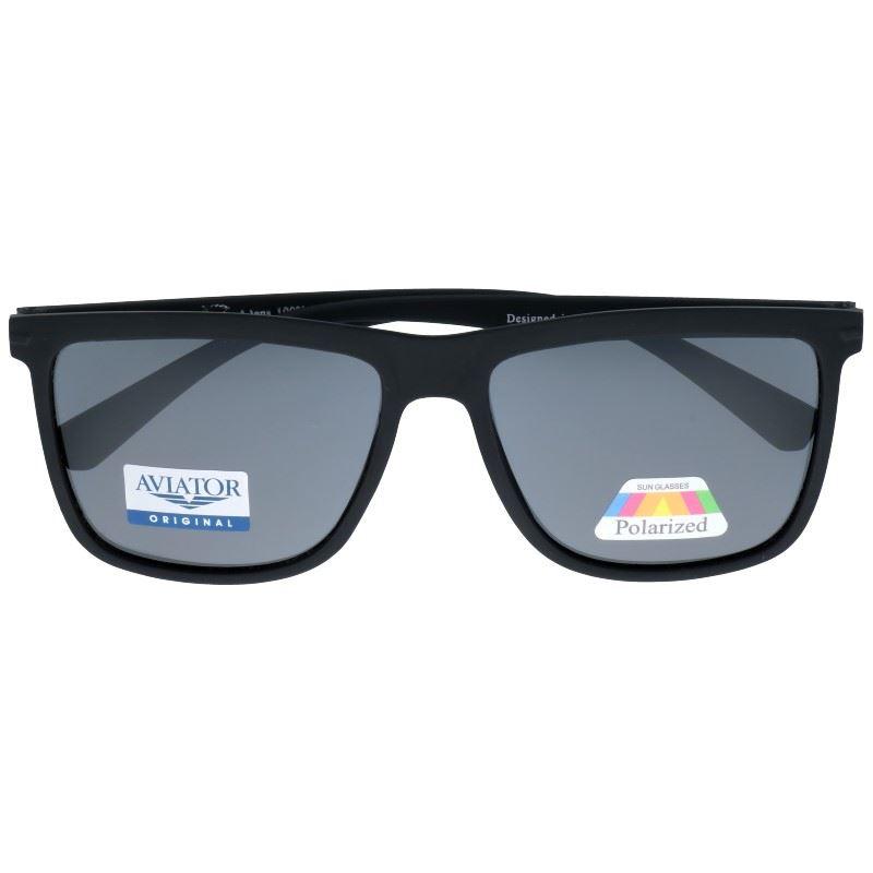 "Čierne prémiové polarizačné okuliare Wayfarer ""3000"""