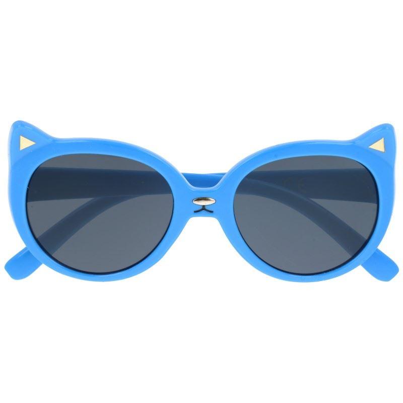 """Modré detské slnečné okuliare """"Kitty"""""""