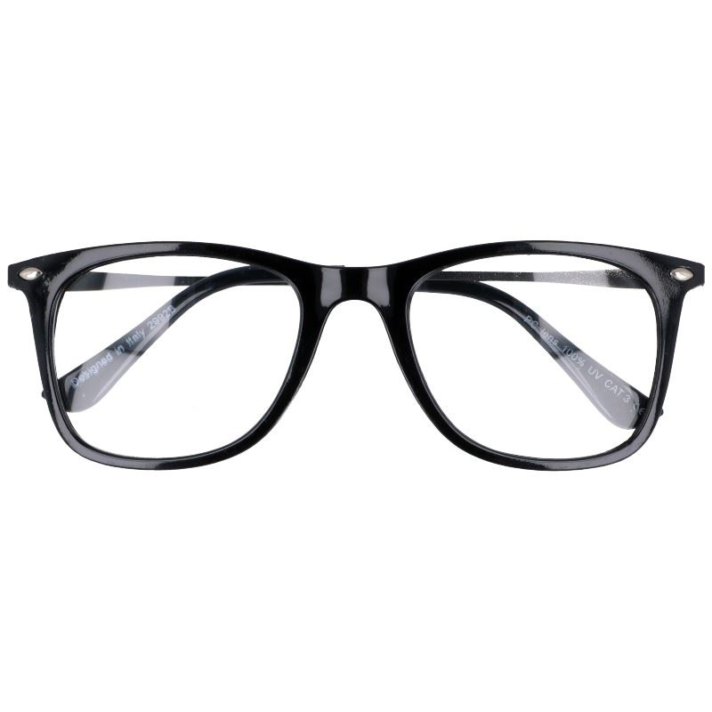 """Čierne štýlové číre okuliare """"Savage"""""""