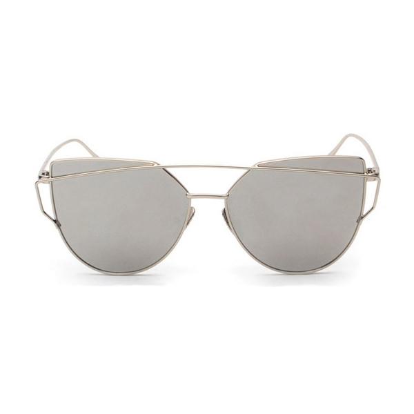 Strieborné dámske okuliare