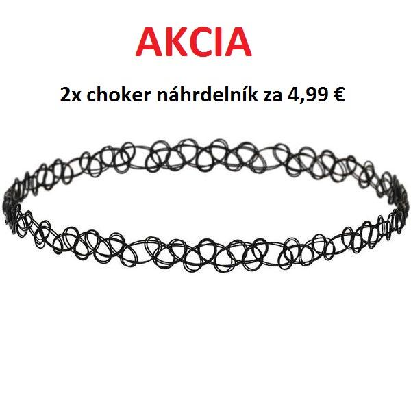 cd2fe0877 Čierny náhrdelník Choker