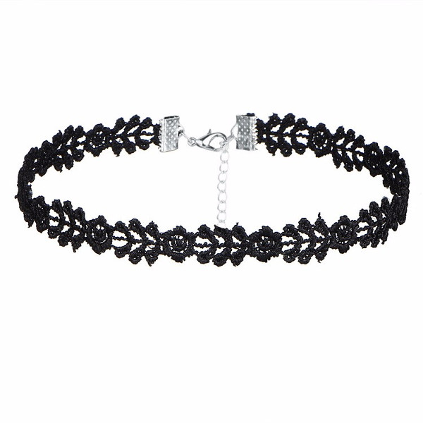 e20e633fe Čierny náhrdelník Choker