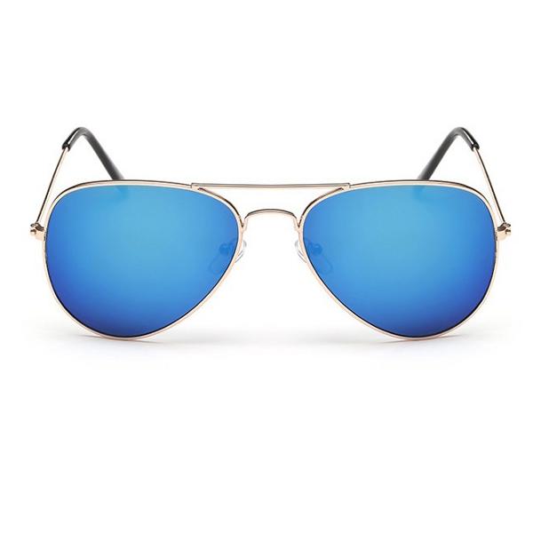 9f0dc1280 Modré zrkadlové okuliare pilotky | Letnyhit.sk