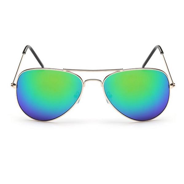 729b5f6f7 Zelené zrkadlové slnečné okuliare pilotky | Letnyhit.sk