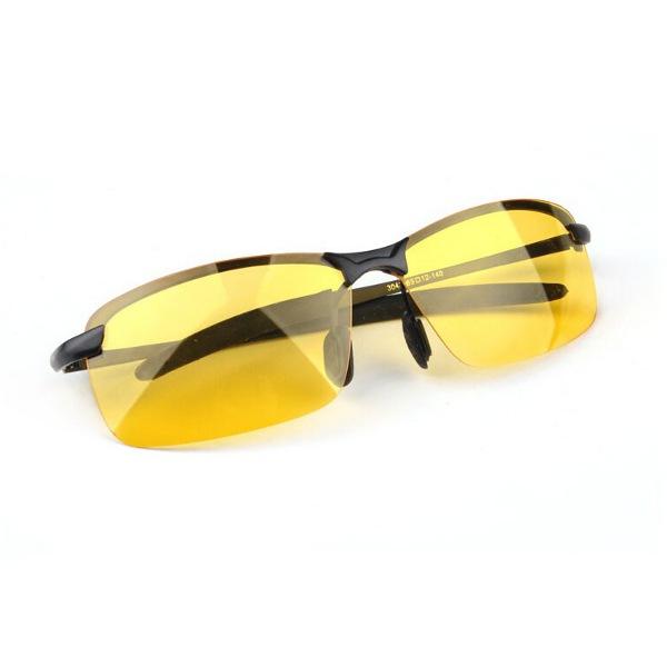 Čierne polarizačné okuliare pre vodičov