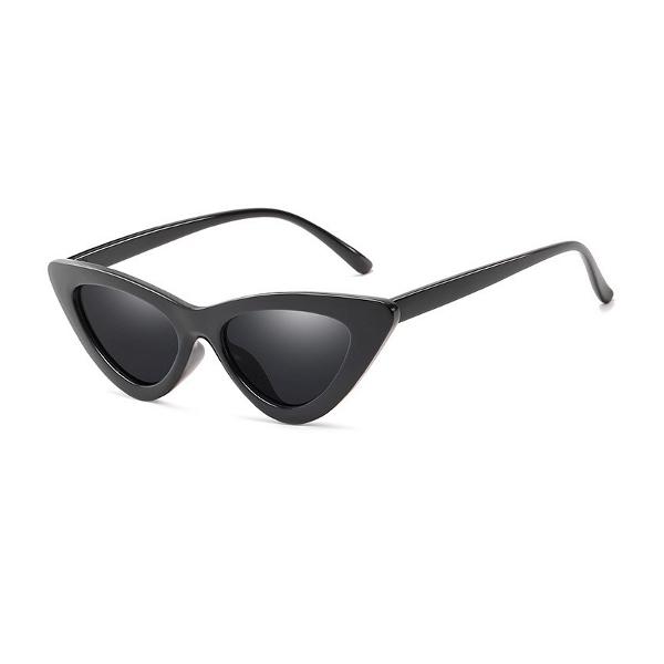 Čierne dámske slnečné okuliare