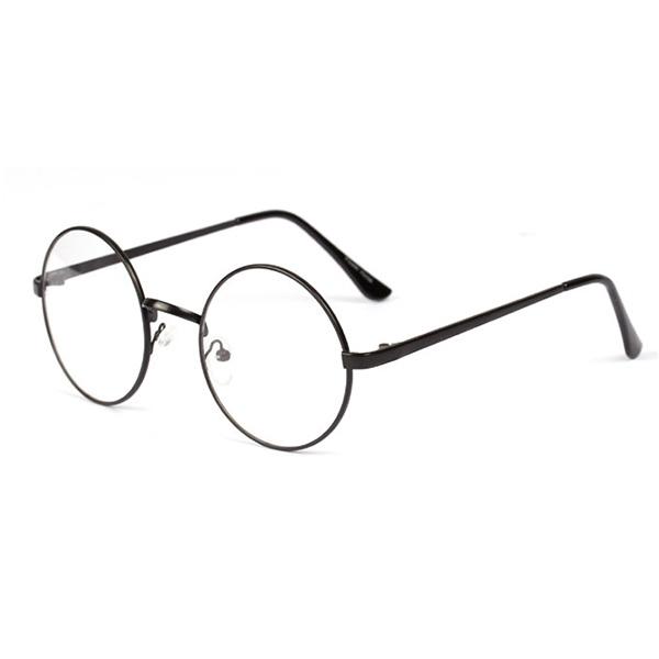 Číre čierne okuliare lenonky  6dd725e844c