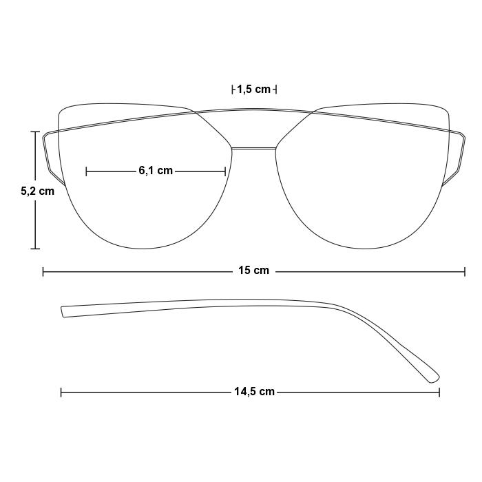 46550fb33 Čierne dámske okuliare