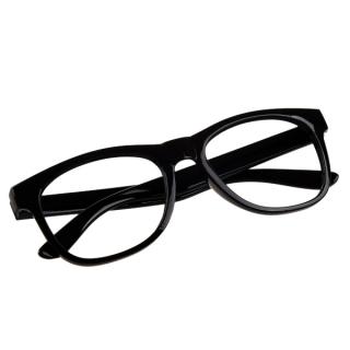 Čierne číre detské okuliare - bez sklíčok empty dde087b1a89