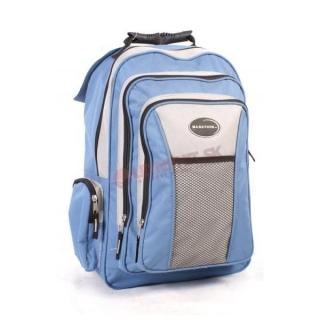 14bcee650e Svetlomodrý batoh do školy