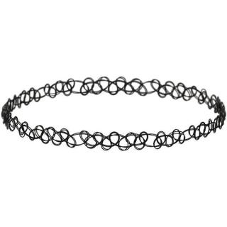 Čierny náhrdelník Choker