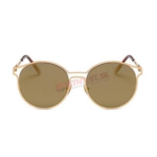Zlatisto-hnedé mačacie okuliare