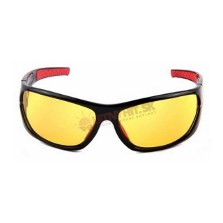 Žlté-červené polarizačné okuliare pre vodičov