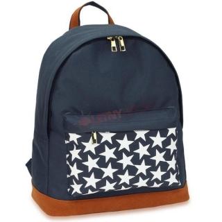 3cdf66ae79 Modrý batoh do školy s hviezdami