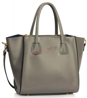 Sivá elegantná kabelka