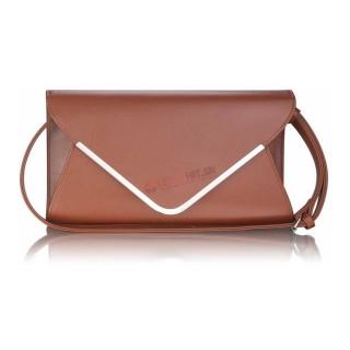 Hnedá spoločenská kabelka