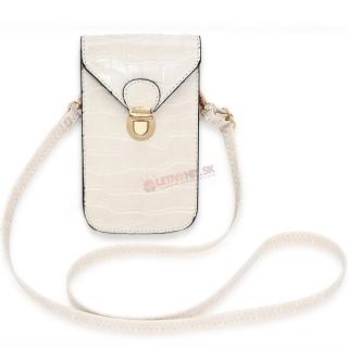 Béžová crossbody mini kabelka
