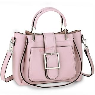Ružová kabelka s imidžovou prackou