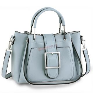 Modrá kabelka s imidžovou prackou