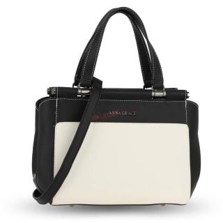 3805c263f22d Čierno-biela kabelka na rameno