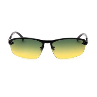 Žlto-zelené polarizačné okuliare pre vodičov