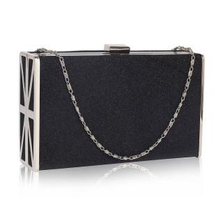 a81e2e5f75 Čierna spoločenská mini kabelka
