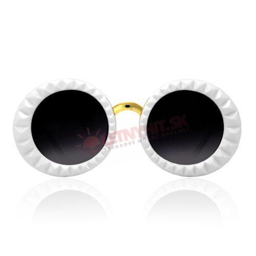 """Dámske slnečné okuliare v retro štýle si obľúbite vďaka ich jedinečnosti a  štýlu. Ak sa teda chcete riadiť heslom """"hlavne nápadne"""" 4d2de334cba"""